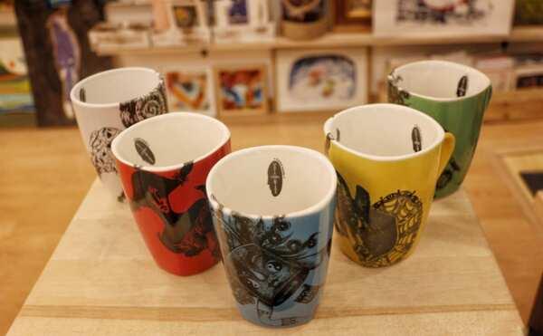 Чаши за кафе/чай с илюстрация