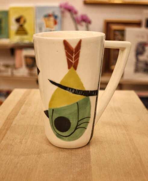 Чаша за кафе/чай с илюстрация