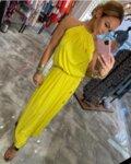 φόρεμα DEYA-Βαθύ κίτρινο