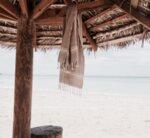 Ленена кърпа / пясъчен цвят