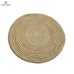 Кръгъл килим от юта в рае ø150