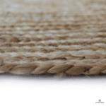 Кръгъл килим от юта в рае ø200