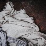Ленен шал LS / естествен цвят