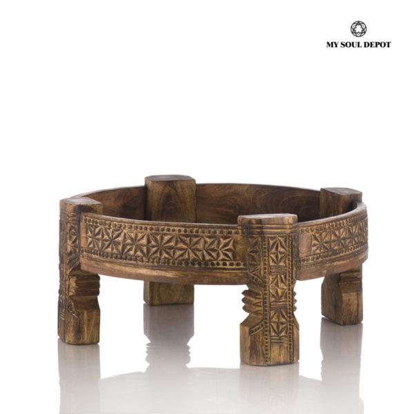 Ниска дървена маса CHAKKI