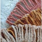 Кръгъл килим от юта Soleil
