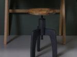 Дървен стол с регулируема височина SPACE
