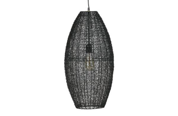 Плетена метална лампа L