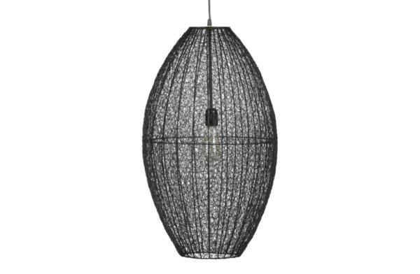 Плетена метална лампа XL