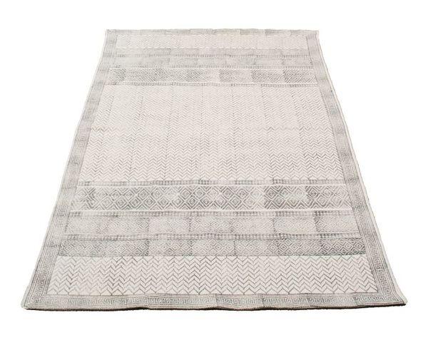 Ленен килим Grey graphic