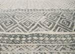 Ленен килим Gray graphic
