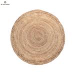 Кръгъл килим от юта 150