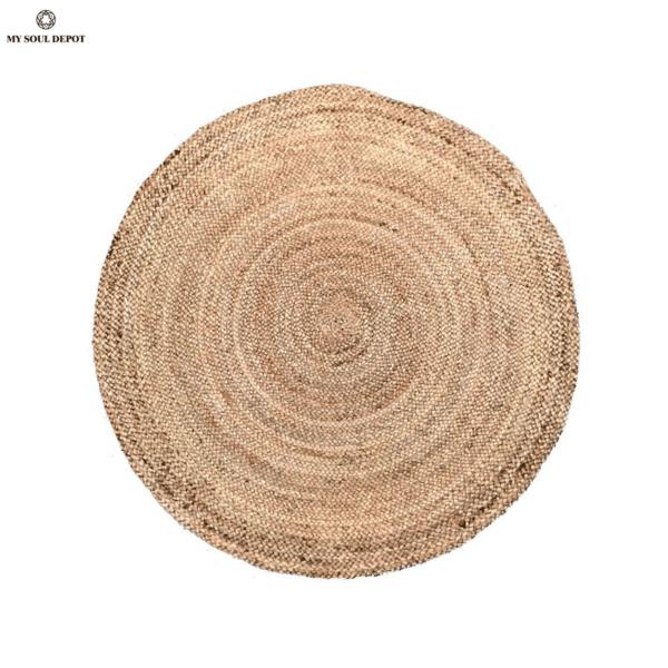 Кръгъл килим от юта ø150