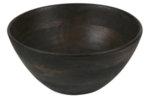 Дървена купа в тъмнокафяв цвят