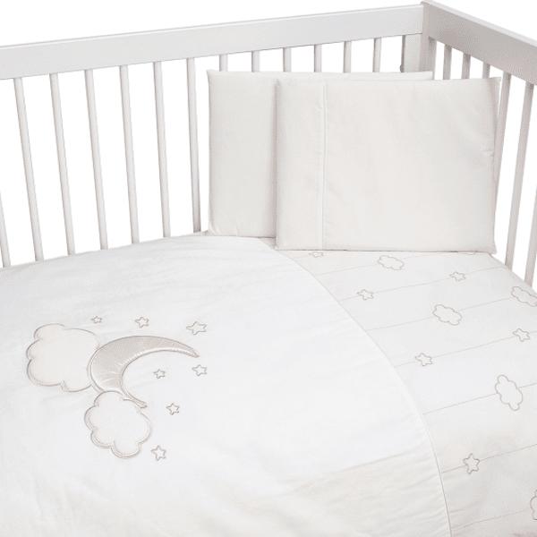 FUNNABABY Бебешки спален комплект 4 части Luna Elegant