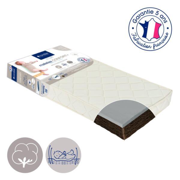 Candide Органичен матрак Коко Comfort+ за легло 60X120См (11См Дебелина) C-482654