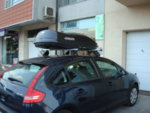 Автобокс Farad Marlin F3 400L черен мат