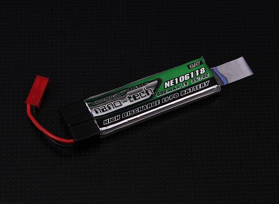 Turnigy nano-tech 600mah 1S 35~70C Lipo (Nine Eagles Solo Pro 328, Eflite MQX, 120SR) Липо 1 клетка/ полимерна батерия