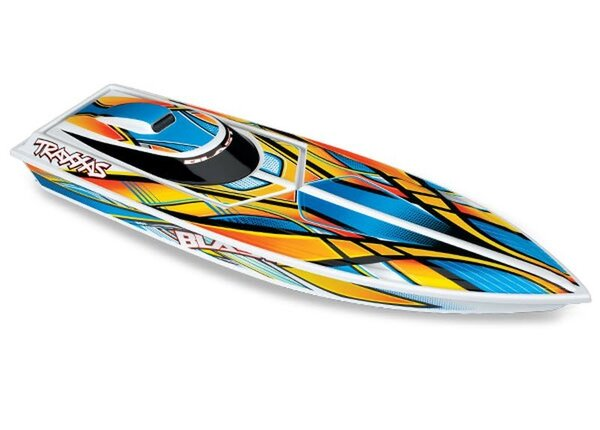 Traxxas Blast High Performance Boat TQ (incl battery/charger), ORANGE TRX38104-1ORNG