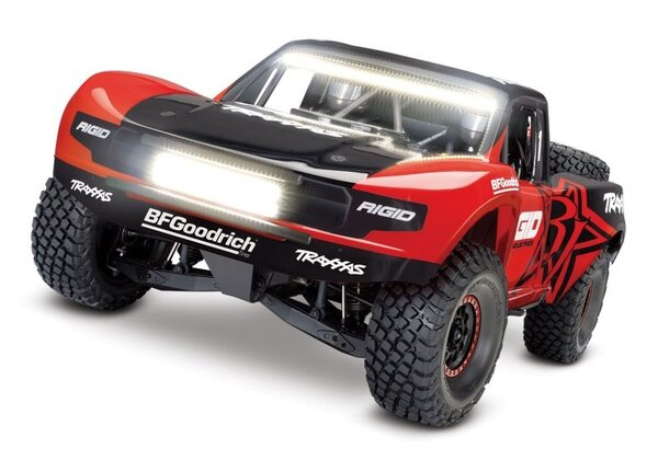 Traxxas Unlimited Desert Racer 4WD incl LED, TQi VXL-6S (no battery/charger), Rigid TRX85086-4RGD