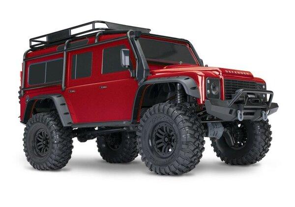 Traxxas Land Rover Defender TRX-4 Crawler Red