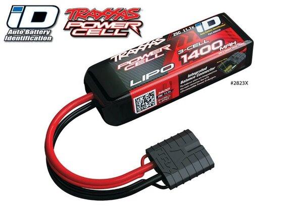 Power Cell LiPo 1400mAh 11.1V 3S 25C , all 1/16 models, TRX2823X