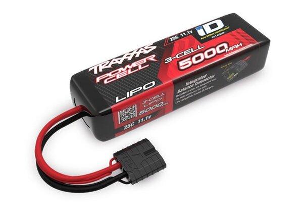 Power Cell LiPo 5000mAh 11.1V 3S 25C, short 135mm