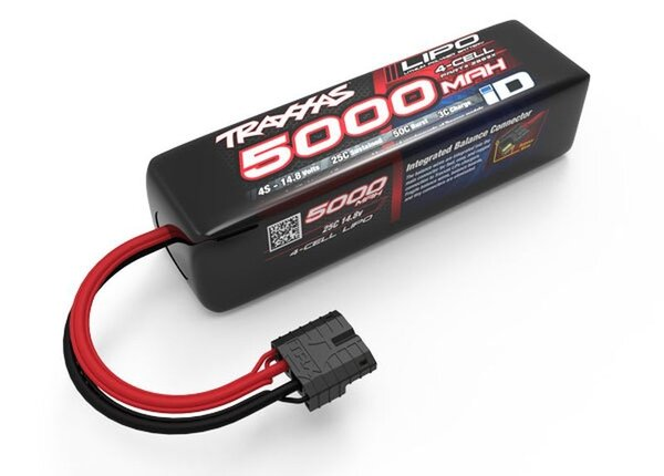 Power Cell LiPo 5000mAh 14.8V 4S 25C (replaces 2888X)