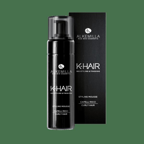 Стилизиращ био мус пяна за коса K-Hair Alkemilla, 150мл