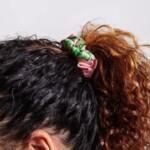 Малки сатенени скрънчита Small Satin Scrunchies Flora&Curl