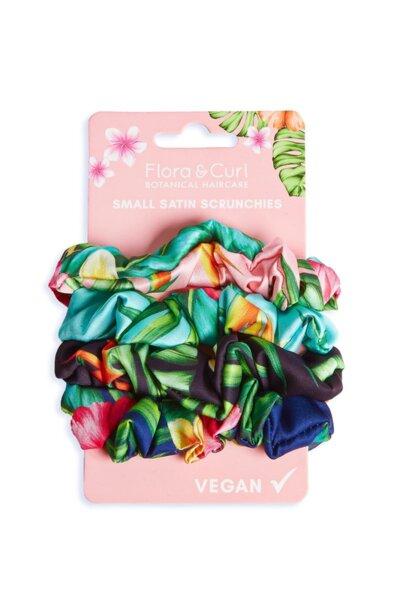 Малки сатенени скрънчита Small Satin Scrunchies Flora & Curl