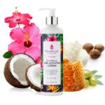 Лосион за активиране на къдрици Flora & Curl Sweet Hibiscus Curl Activating Lotion 300мл