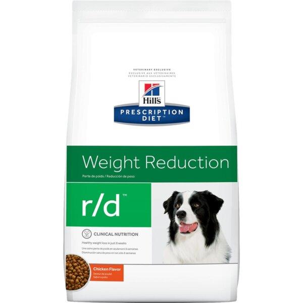Hill's Prescription Diet r/d - диета за кучета с диабет, наднормено тегло и колит или запек (12 кг / 1.5кг)