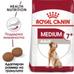 Royal Canin Medium Adult 7+ - Суха храна за кучета от средните породи (11 до 25 кг) в напреднала възраст над 7 години