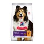 Hill's Science Plan Adult Sensitive Stomach & Skin – Пълноценна суха храна за кучета над 1 година с чувствителен стомах и чувствителна кожа (2.5кг / 14кг)