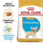 Суха храна за кучета Royal Canin CHIHUAHUA JUNIOR - ( 0,500 грама / 1,5 кг )