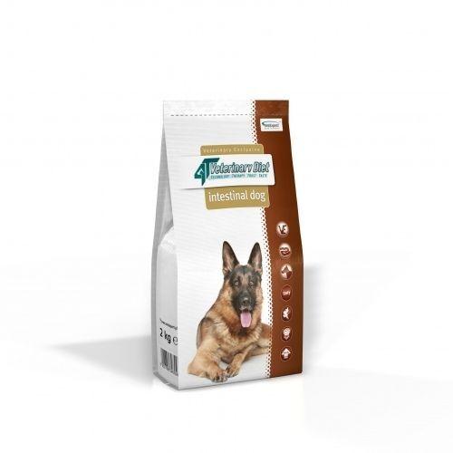 Vet Expert 4T Intestinal Dog - Диета за кучета с лошо храносмилане и малабсорбция, недостатъчност на панкреаса, хроничен панкреатит, състояния след остър панкреатит  (2кг/12кг)