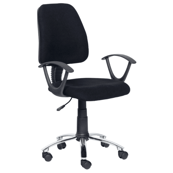 Офис стол Carmen 7067-10 - черен
