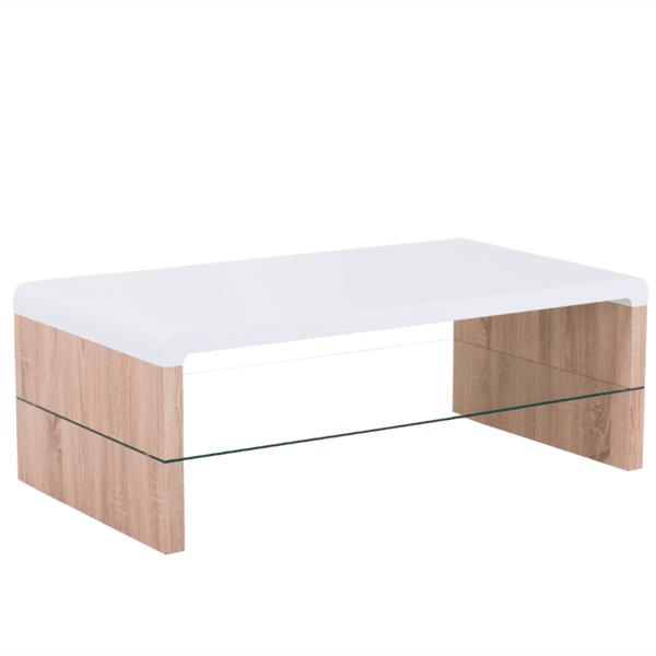 Холна маса MATRIX - бял дъб