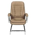Посетителски стол Carmen 6054 - бежов