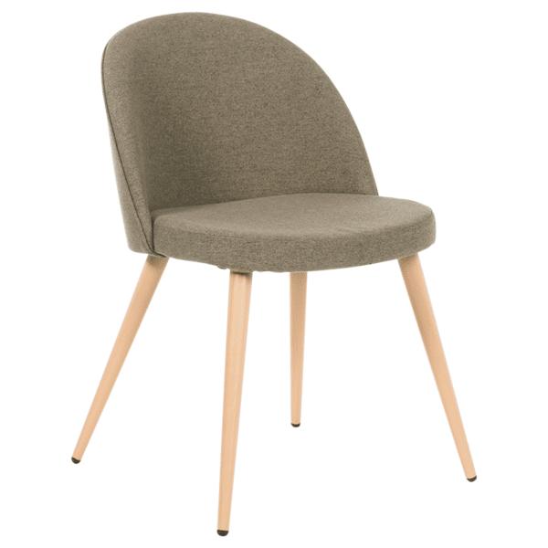 Трапезен стол Carmen 514 - дървесно кафяв MB