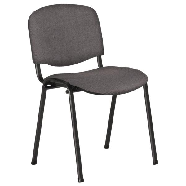 Посетителски стол Carmen 1130 LUX - сив