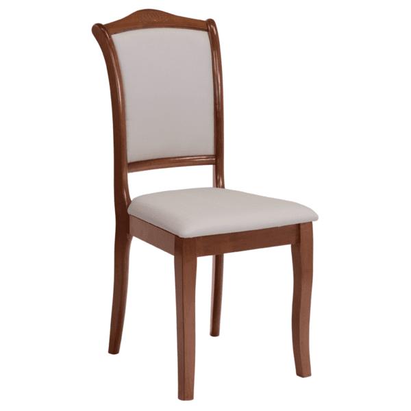 Трапезен стол LOLA - дъб / ванилия