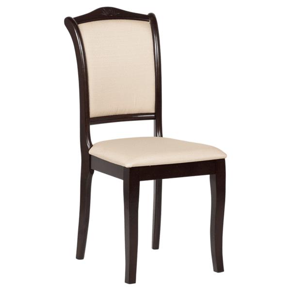 Трапезен стол LOLA - венге 2 / екрю
