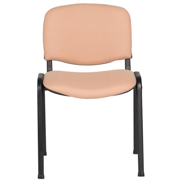 Посетителски стол Carmen 1130 LUX - бежов