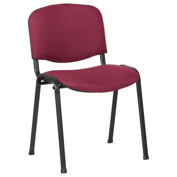 Посетителски стол Carmen 1130 LUX - бордо