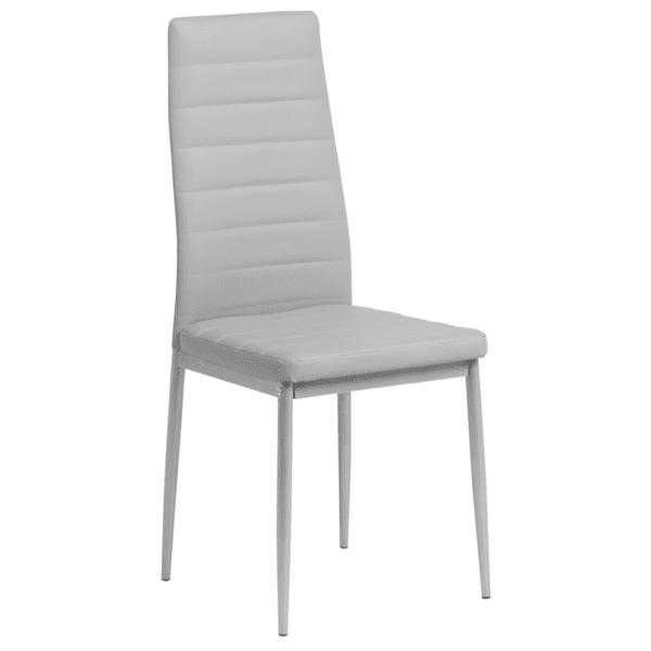 Трапезен стол Carmen 310 - светлосив