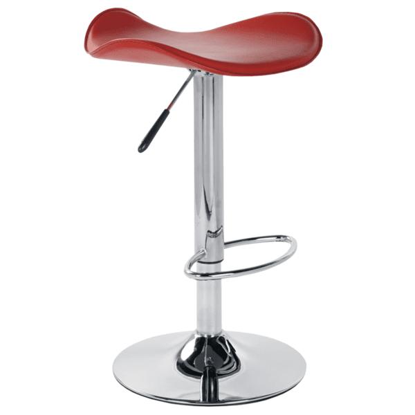 Бар стол Carmen 3011 - червен