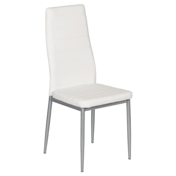 Трапезен стол Carmen 310 - бял
