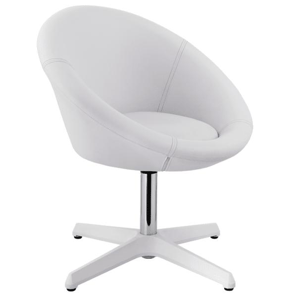Бар стол Carmen 3012 - бял
