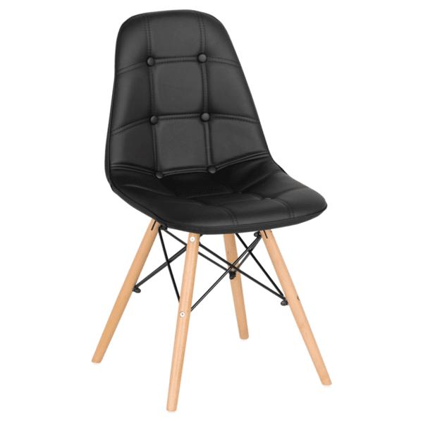 Трапезен стол Carmen 9962 - черен